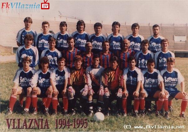 Vllaznia 1994-1995