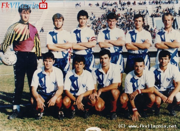 Vllaznia 1995-96