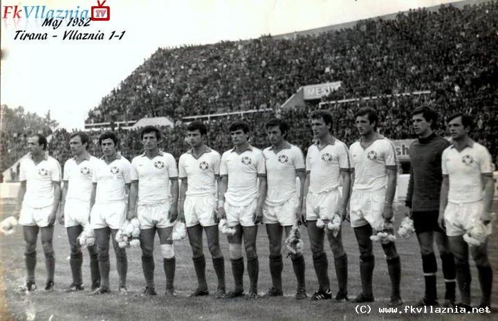 Maj 1982 Tirana-Vllaznia 1-1