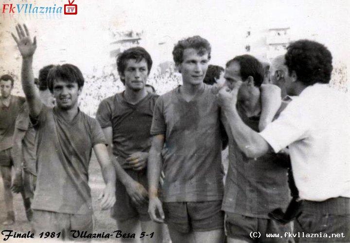 Fitues te K.Republikes 1981 : Vllaznia-Besa 5-1