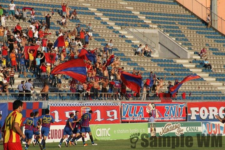 Europa Lige: Vllaznia - Birkirkara