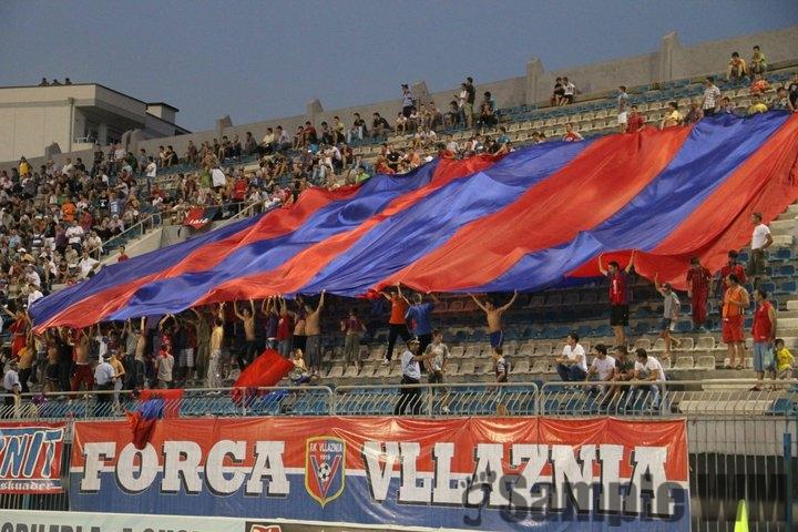 Vllaznit Ultras ne europa Lige