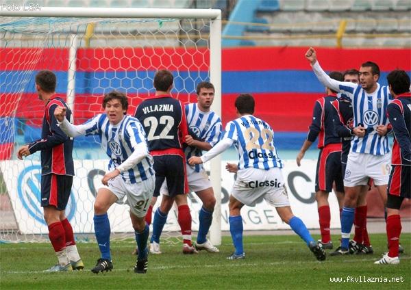 Java e 12-te:Tirana - Vllaznia 1-1