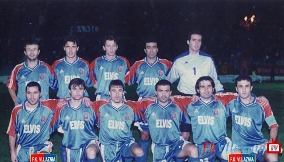 Vllaznia-Reykjavik 1-0 18 Korrik 2001