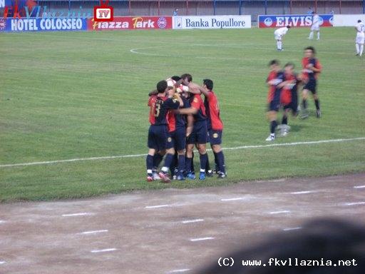 Kupa Intertoto: Vllaznia - NK Zagreb 1:0