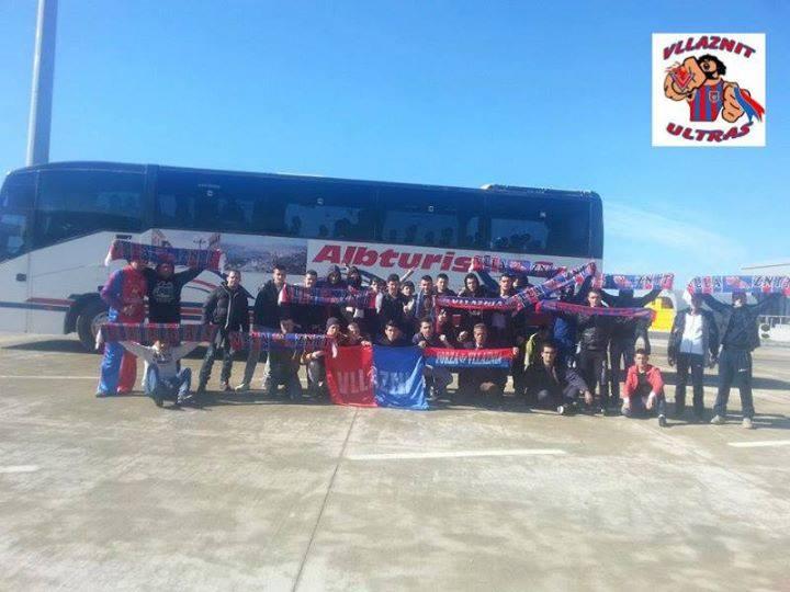 Atmosferë para Tiranës, 5 autobusë për tifozët e Vllaznisë