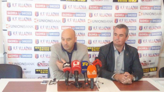 Prag-ndeshja me Partizanin, Gjoka zbulon nj� ndryshim n� formacionin e Vllaznis�