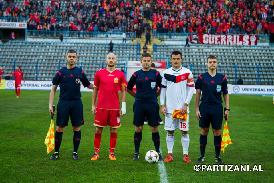 Java 35: Partizani - Vllaznia