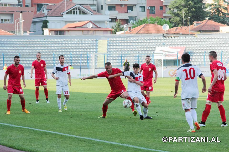 Partizani 1-0 Vllaznia