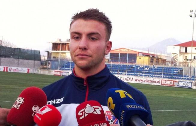 Arlind Kalaja, 21-vjeçari pranë dhe larg Vllaznisë