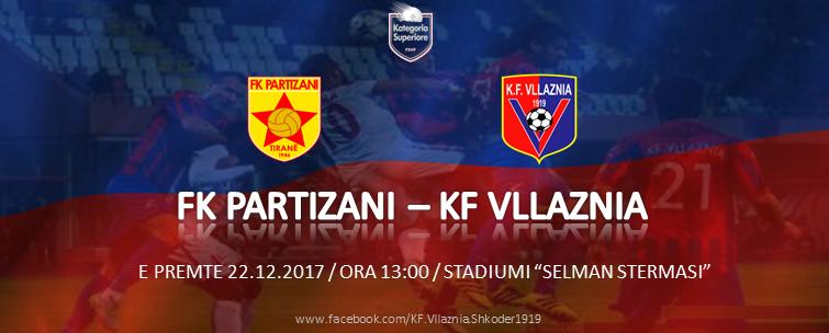 Java 16: FK Partizani - KF Vllaznia