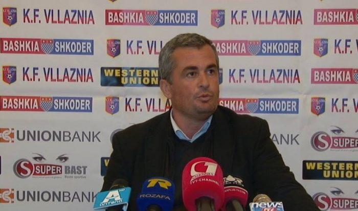 Zeka: Tek Vllaznia jane shperdoruar parate.