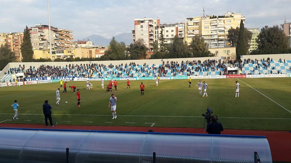 Java 17: Tirana 0-0 Vllaznia