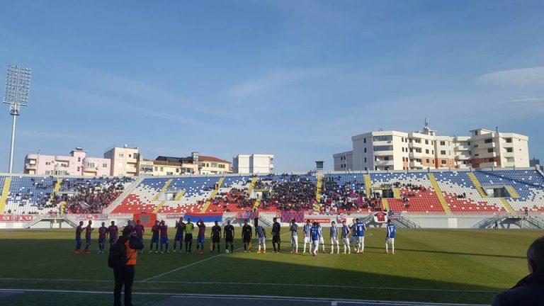 Klasikja Vllaznia - Tirana mbyllet ne barazim